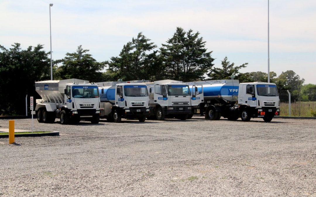 Vehículos y Logística Bases YPF Directo