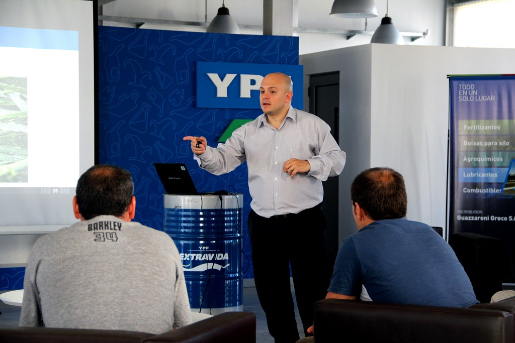 capacitaciones en YPF Directo