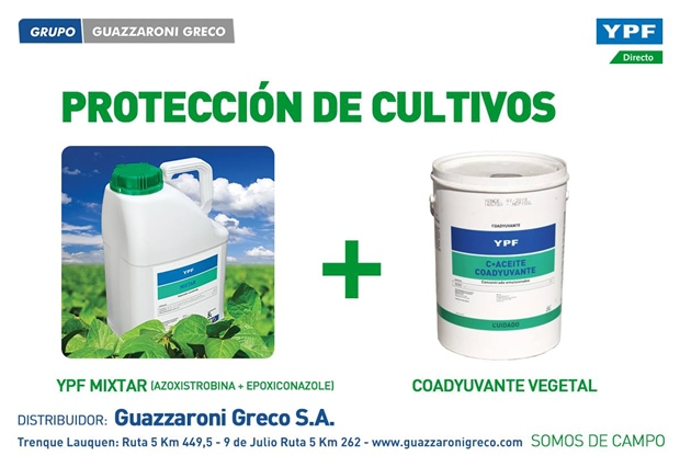 Protección de cultivos: Fitosanitarios YPF Directo