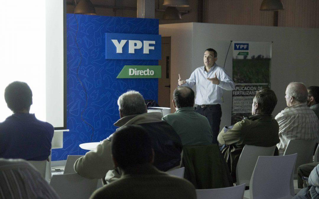 Actualización de conocimientos en YPF Directo de 9 de Julio