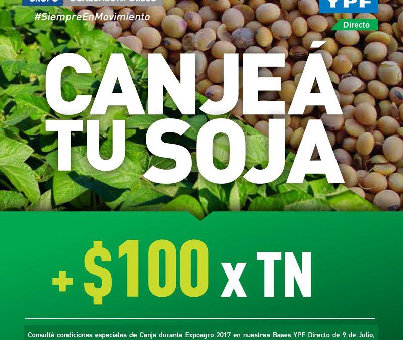 Canje de granos por insumos Expoagro 2017