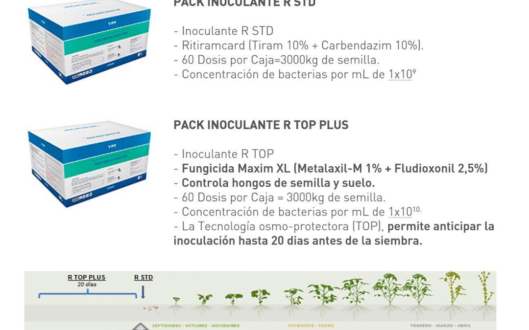 Nuevo PACK INOCULANTE R TOP PLUS