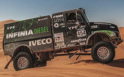 Equipo INFINIA Diesel Dakar