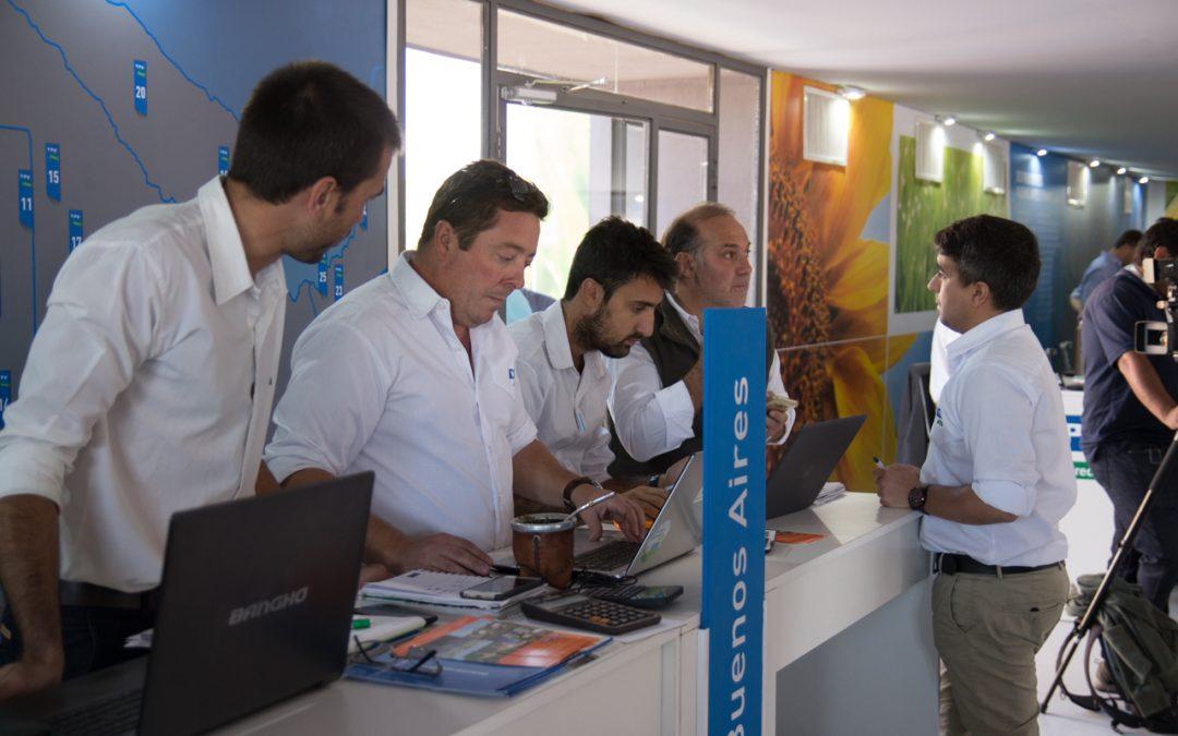 Trabajando en Expoagro 2018