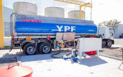 Aeroplanta  propia en YPF Directo 9 de Julio