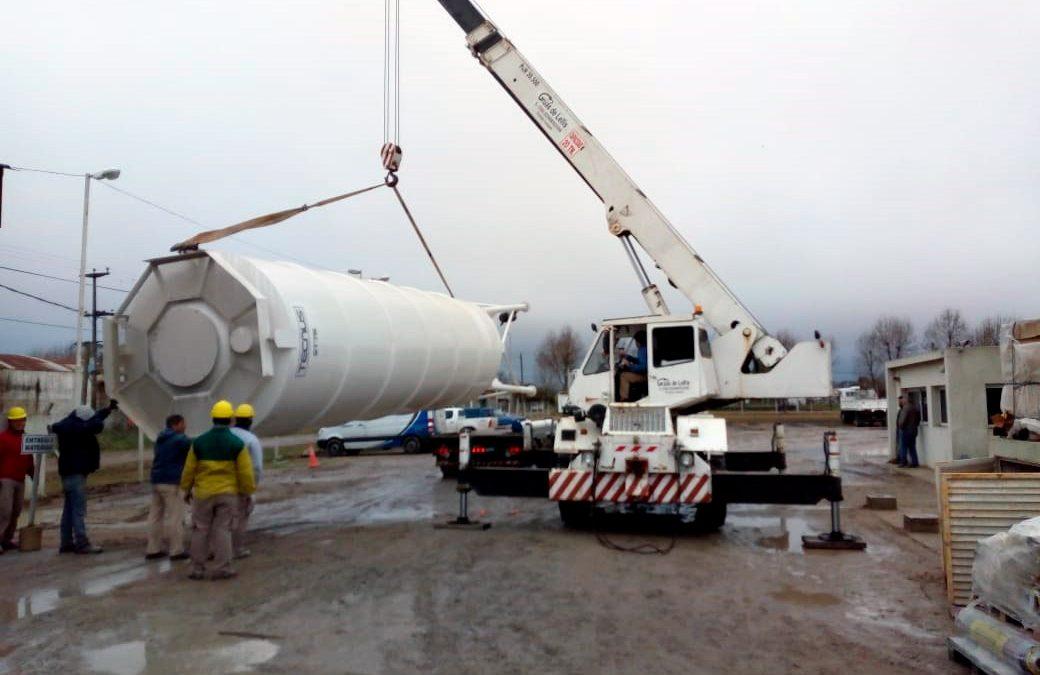 Nuevo silo para Hormigonera