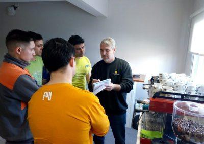 Baristas Grupo Guazzaroni Greco