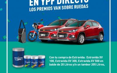 Promo YPF EXTRAVIDA Sorteo 2 Chevrolet Tracker y 6 motos Suzuki