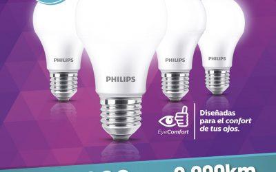 Canjeá Km Serviclub por lámparas LED !!!