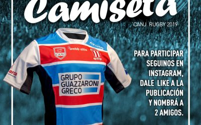 Sorteo Camiseta Rugby CANJ