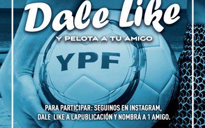 Sorteo Pelotas YPF