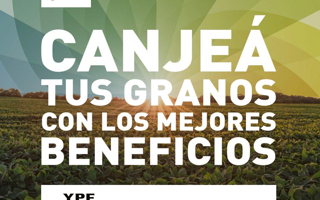 Agroactiva del 26 al 29 de Junio canjeá granos por insumos