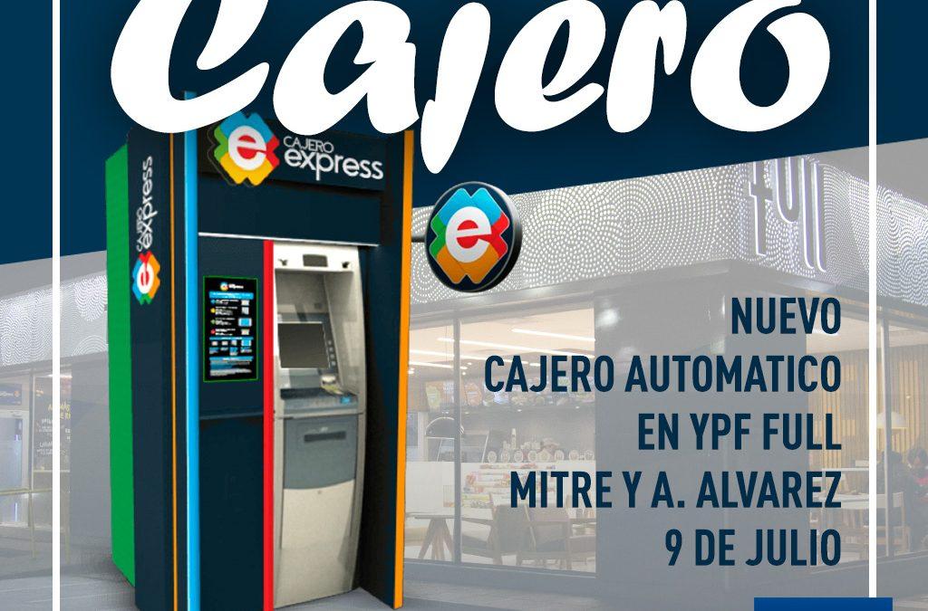 Nuevo Cajero automatico en el Centro!