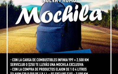 NUEVA PROMO !!!! Podés llevarte una MOCHILA YPF