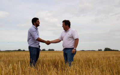 Recorriendo YPF Agro en 9 de Julio – Asesoramiento y aplicación de fertilizantes.