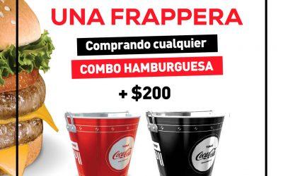 Frapera Coca Cola