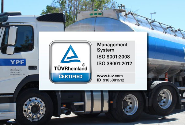 Logística Diesel S.A. certificó ISO 39001