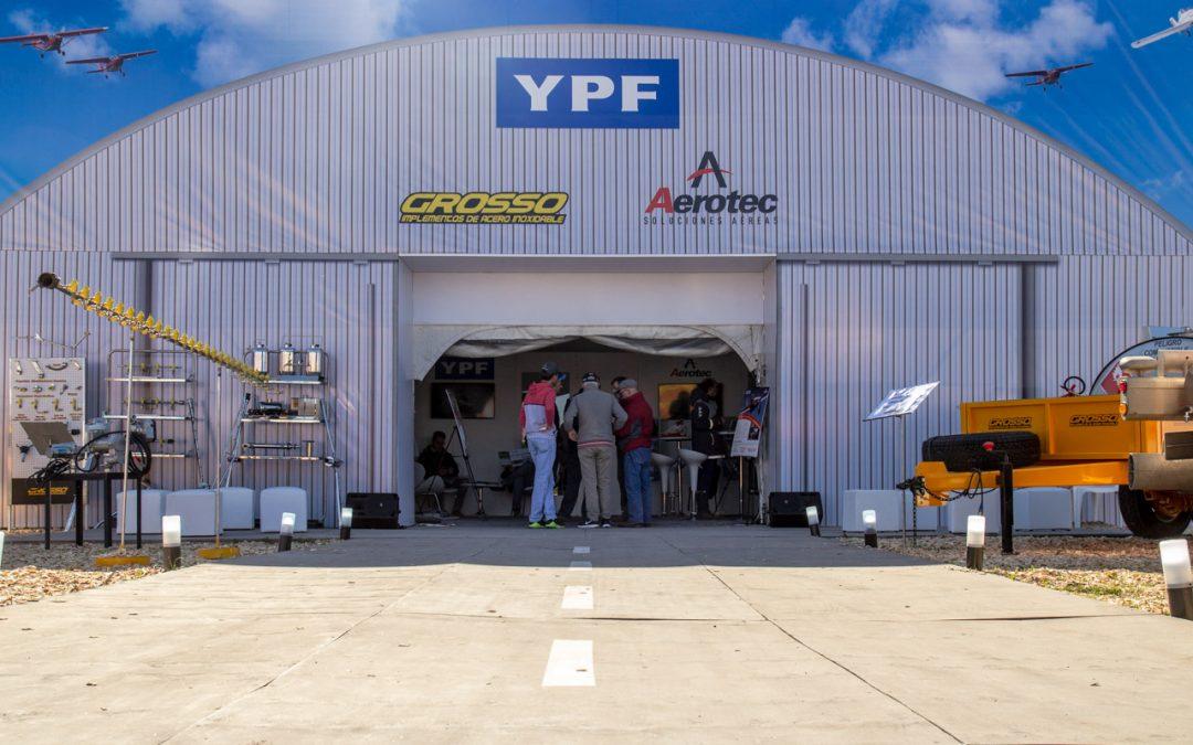 Aviación Guazzaroni Greco en Agroactiva 2018