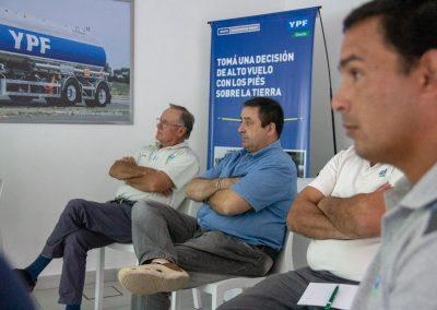 Capacitación combustibles aeronáuticos YPF