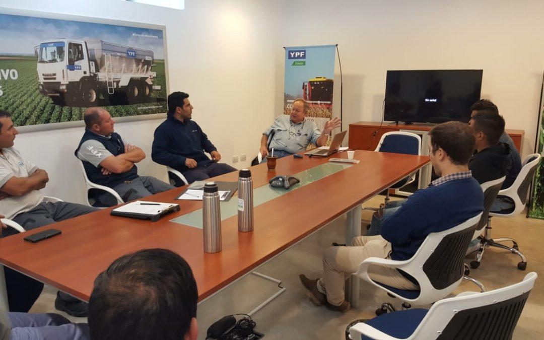 Curso de autoelevadores en YPF Agro 9 de Julio