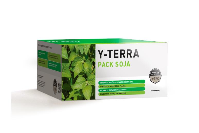 Llegó Y-TERRA Pack Soja ciencia aplicada al campo.