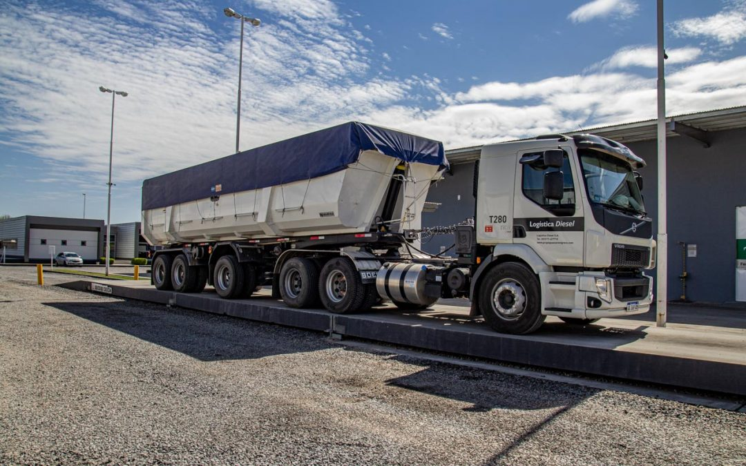 Transporte y logística de cereales, fertilizantes y áridos