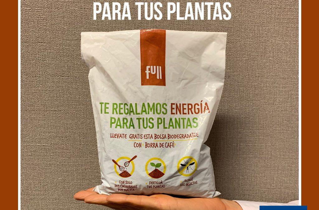 Te regalamos energía para tus plantas