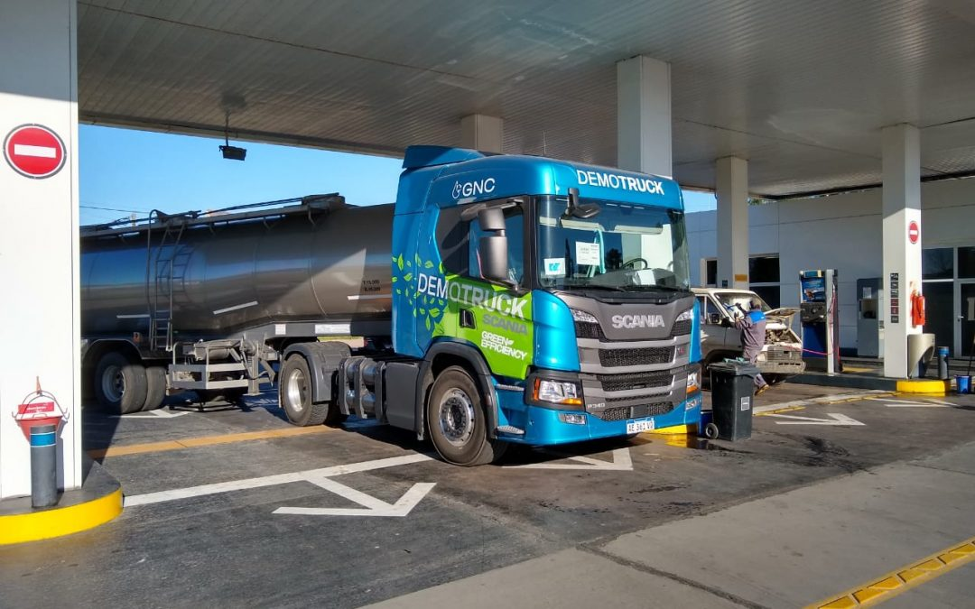 Los camiones GNC ya cargan en nuestra Estación YPF Ruta 5 (9 de Julio)